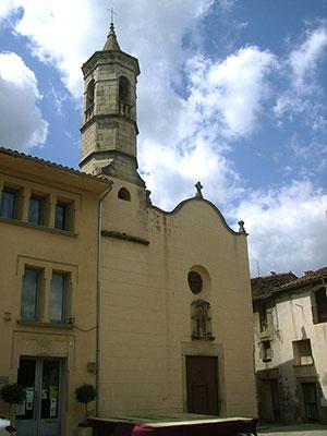 Imatge de la capella del Roser, St Feliu de Pallerols